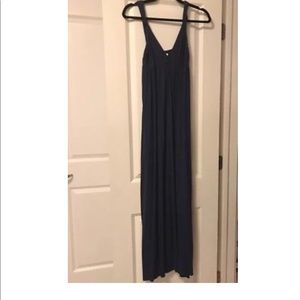 NWOT Michael Stars Navy Sleeveless Maxi O/S $168